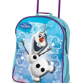 Frozen Olaf 3D Trolley Bag