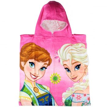 Frozen Hooded Towel – Pink