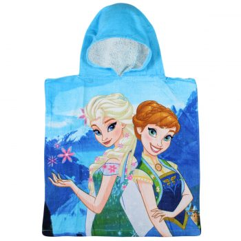 Frozen Hooded Towel – Blue