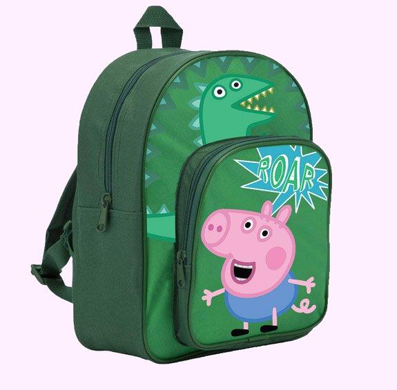 5480033b3da George Pig Dinosaur Backpack – Simply Bubs Merchandise