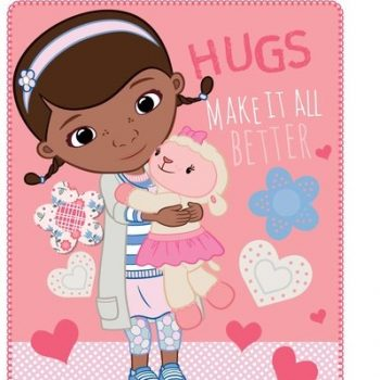 Doc McStuffins Polar Fleece Blanket