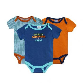 Bodysuits 3pk – Totally Awesome Lil' Dude