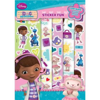 Doc McStuffins Sticker Fun