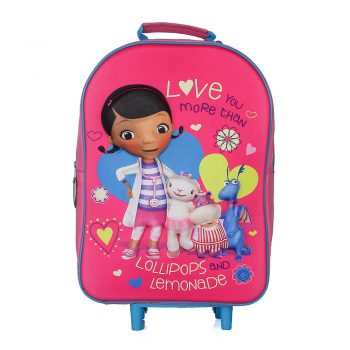 Doc McStuffins 3D Trolley Bag
