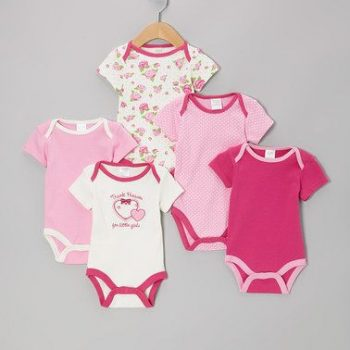 Bodysuits 5pk Watch me grow – Thank Heaven for Little Girls