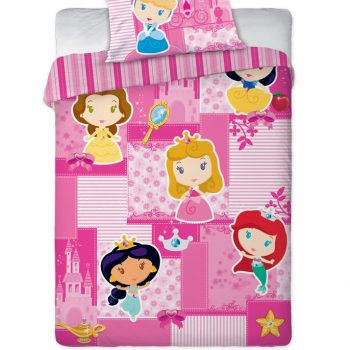 Princess Toddlers Quilt Cover Set – Junior (Toddler Bed)