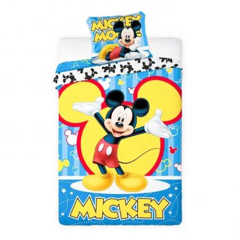 Mickey Mouse Quilt Cover Set – Single