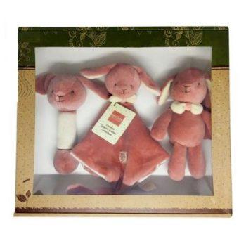 miYim Organic Plush Gift Set – Victoria Bunny