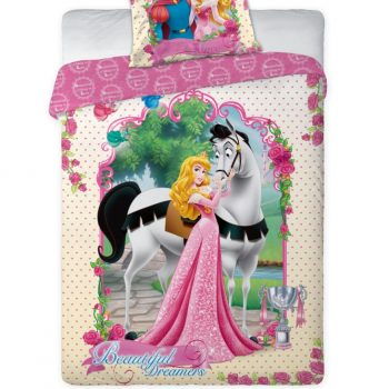 Princess and Prince Quilt Cover Set – Single