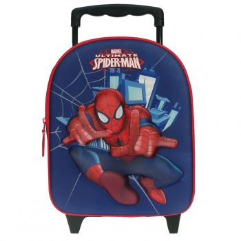 Spiderman 3D Trolley Backpack