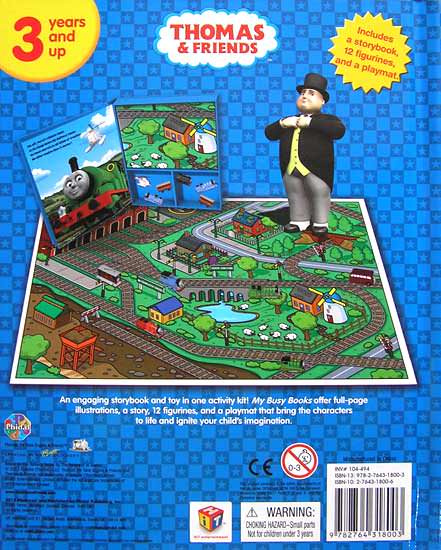 Thomas And Friends My Busy Book Simply Bubs Merchandise