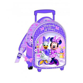 Minnie Mouse & Daisy Duck Trolley Backpack