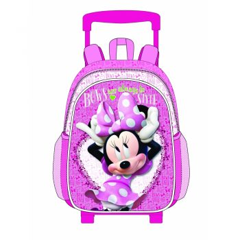 Minnie Mouse Trolley Backpack – Pink
