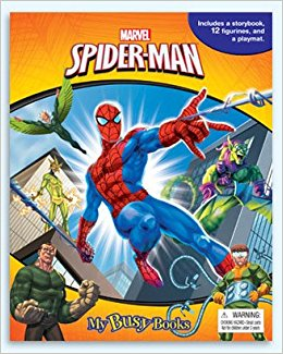 Spiderman – My Busy Book