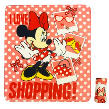 Minnie Mouse Polar Fleece Blanket – Love Shopping