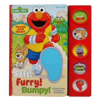 Sesame Street Elmo Soft! Furry! Bumpy!