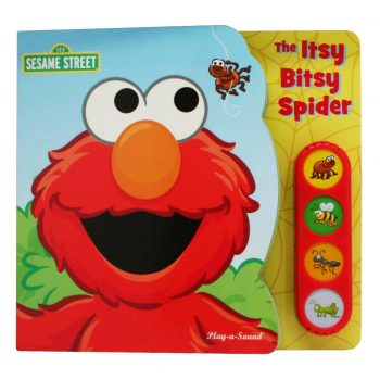 Play-a-Sound Elmo The Itsy bitsy Spider