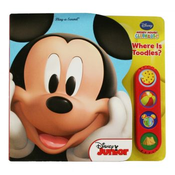Play-a-Sound Mickey Mouse Club House Where's Toodles?
