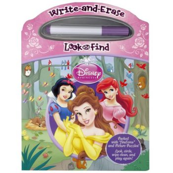 Write and Erase Look and Find Disney Princess