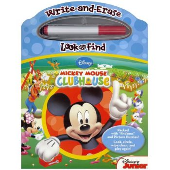 Write and Erase Look and Find Mickey Mouse Clubhouse