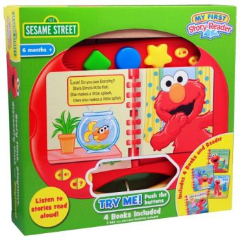 My First Story Reader and Sesame Street 4-book Library