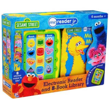 ME Reader Sesame Street – Electronic Reader and 8-Book Library