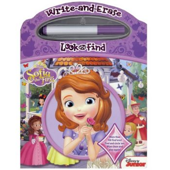 Write and Erase Look and Find Disney Sofia the First