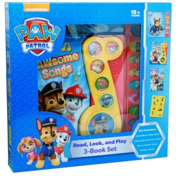 Read, Look and Play – Paw Patrol
