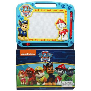 Learning Book with Magnetic Drawing Pad – Paw Patrol