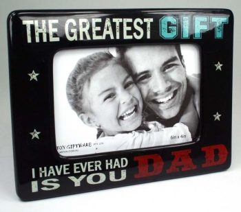 Super Dad Photo Frame 6×4 – Greatest Gift
