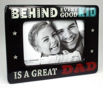 Super Dad Photo Frame 6×4 – Great Dad