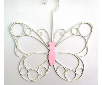 Wire Scarf Hanger Butterfly Design