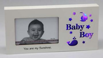Starlight LED Photo Frame – Baby Boy