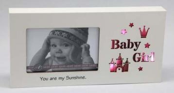 Starlight LED Photo Frame – Baby Girl