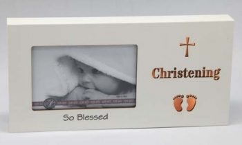 Starlight LED Photo Frame – Christening
