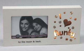 Starlight LED Photo Frame 6×4 – I love Aunty