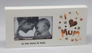 Starlight LED Photo Frame 6×4 – I love Mum