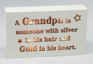 Starlight LED Block – For Grandpa