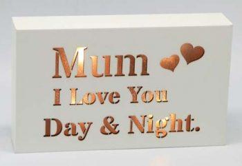 Starlight LED Block – For Mum