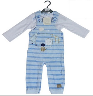 Puppy Dungaree (Overall Set)