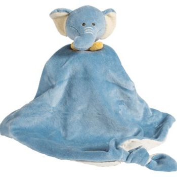 miYim Organic  Eddie Elephant -Security Blanket