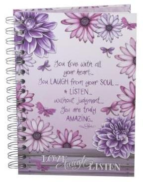 Petals Note Book – Live Laugh Listen