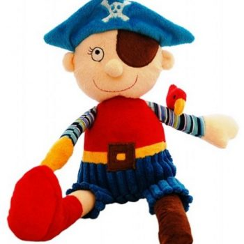 Pirate Plush with Wooden leg