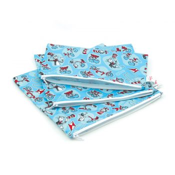 Waterproof 3 piece Bag Set – Dr Seuss Cat in the Hat
