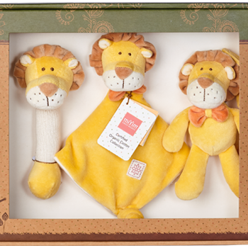 miYim Organic Plush Gift Set – Leo Lion