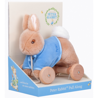 Pull Along Toy Peter Rabbit