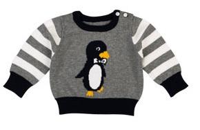 Penguin Baby Jumper