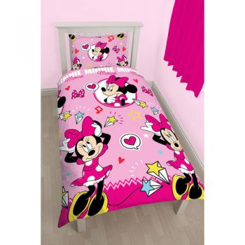 Minnie Mouse Quilt Cover Set – Single