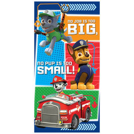 Paw Patrol Beach Towel – Blue