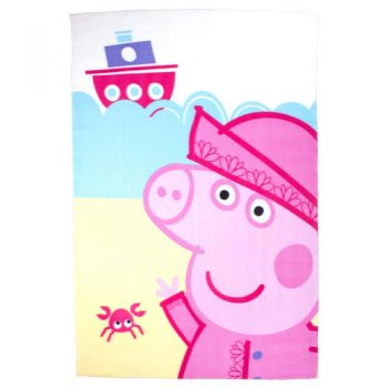 Peppa Pig  Nautical Polar Fleece Blanket